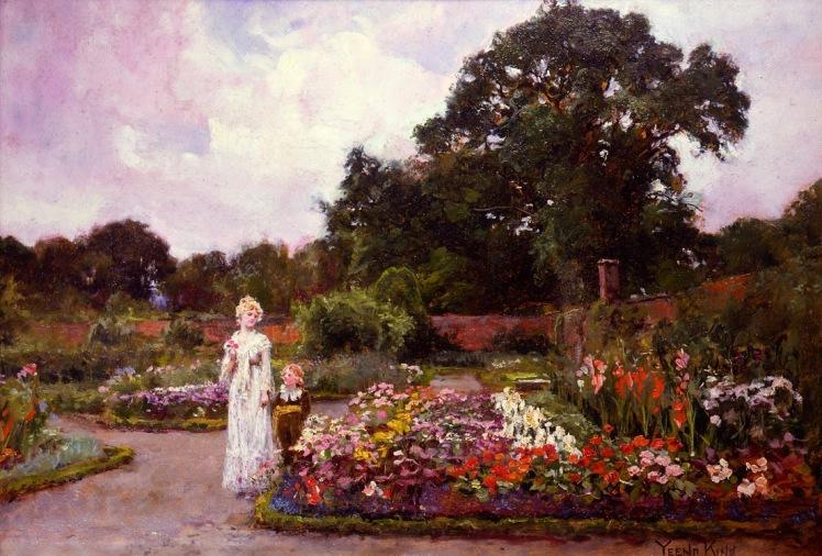 Henry John Yeend King - Victorian Garden